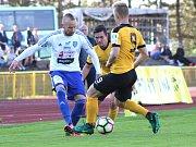 Fotbalisté FK Baník Sokolov porazili ve vloženém 27. kole na svém hřišti 1. SC Znojmo 1:0.