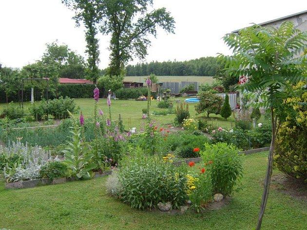 3. místo zahrada Kubalová