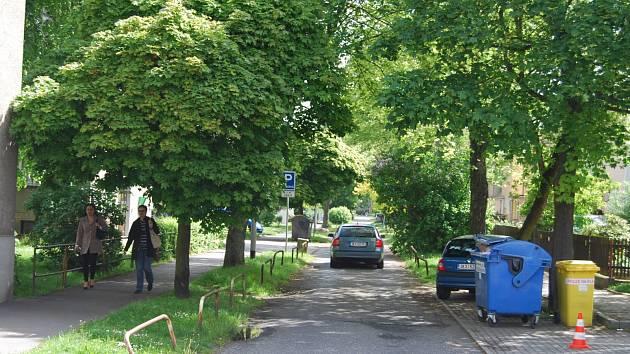 Sokolovská ulice K.H. Máchy