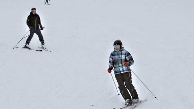 Pro lyžaře panují v těchto dnech ideální podmínky