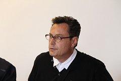 Milan Frydrych před soudem.