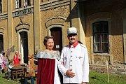 Oslavy císařské návštěvy a výročí obnovení provozu na Kraslické dráze byly velkolepé.