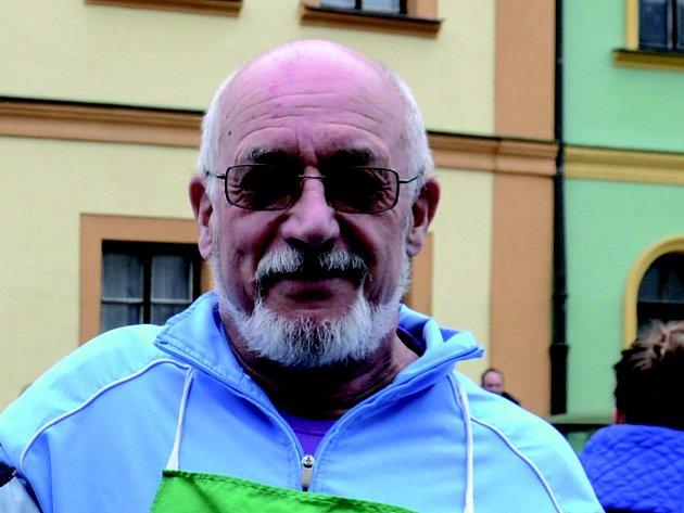 Místostarosta Lokte Rudolf Flaška.
