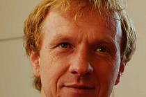 Spokojený organizátor turnaje Petr Peterka.