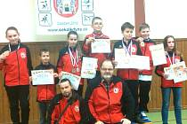 Karatisté Karate Klubu Chodov