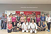 Účastníci podzimního kurzu sebeobrany v Sokolově