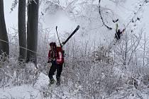 Soutěž horských záchranářů.