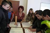 Školáci navštívili Městský úřad v Habartově.