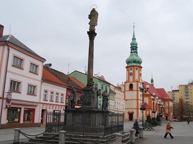 Kostel na Starém náměstí v Sokolově