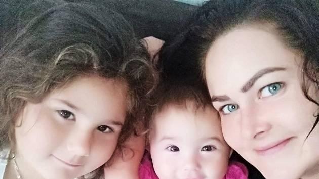 Rakovina se nevyhnula ani mladé mamince dvou holčiček Pavlíně.