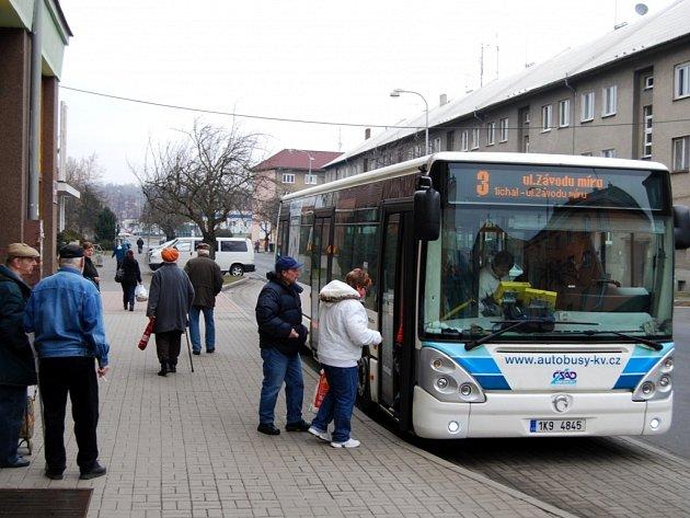 Městská hromadná doprava v Sokolově.