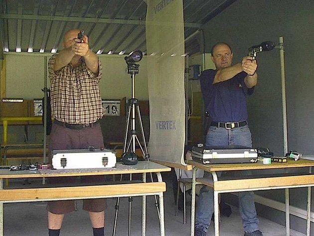 Sportovní střelci SSKP v akci.