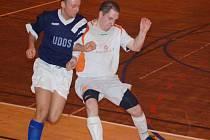 Futsalista Materie Luboš Fiala v akci.