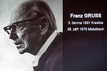 Malíř Franz Gruss.