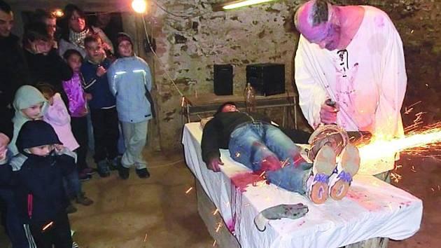 Mezi lidmi oblíbená akce Hartenberské strašení se letos koná již poosmnácté.