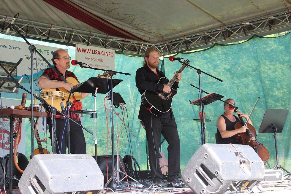 Folková Ohře se konala již posedmnácté, letos opět v tábořišti Dronte v Kynšperku nad Ohří.