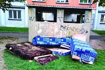 ODLOŽENÉ HARAMPÁDÍ v ulicích Chodova.