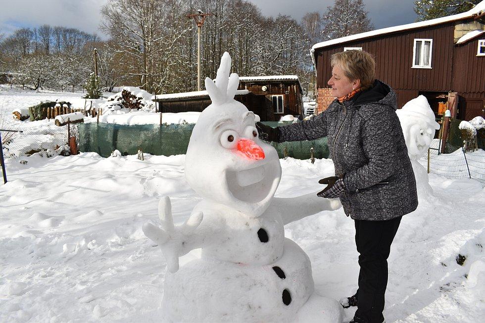 Stavba Olafa v podání Lenky Rousové.