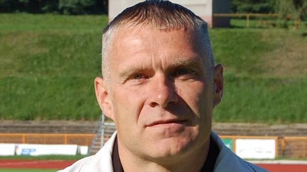 Trenér Oldřich Abrhám.