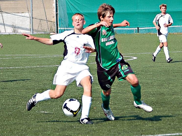 Liga starších žáků FK Baník Sokolov - FC Hradec Králové