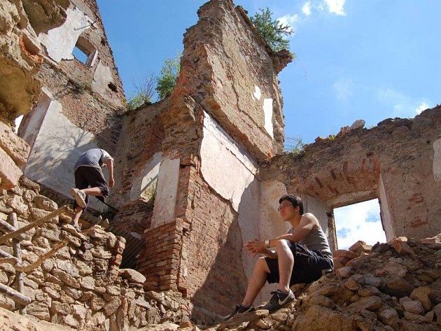 Ilustrační foto - hrad Hartenberg.