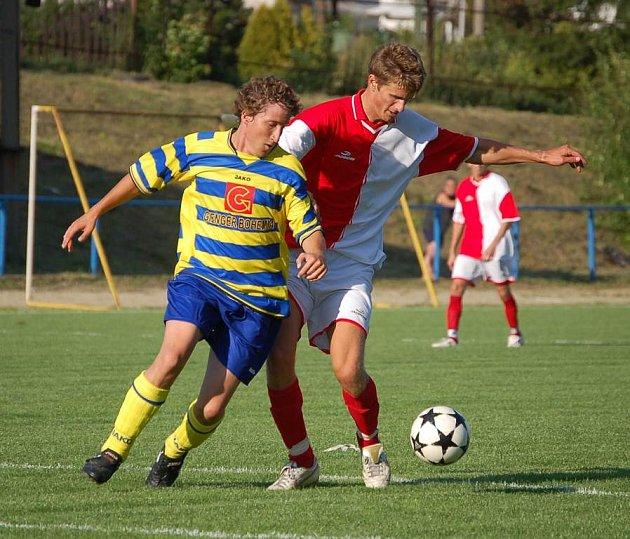 Chodovští fotbalisté na divizní Vejprnice v poháru neměli.