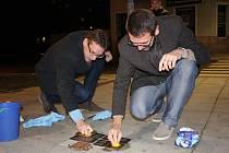 V Chodově si připomněli letošní 80. výročí Křišťálové noci a chodovské židovské oběti holocaustu.