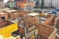 Stavba nového zařízení pro seniory