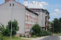 Bytovky u sokolovského nádraží