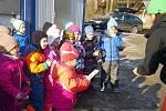 Mateřinka lyžovala v Bublavě.