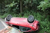 Nehody o posledním prázdninovém víkendu.