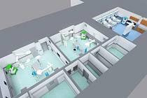 Nemocnice dostane moderní operační sály za 180 milionů