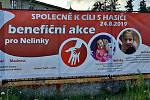 Záchranáři chtějí sobotní akcí podpořit dvě nemocné Nelinky