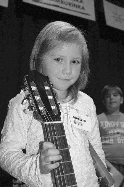 První cenu si z kynšperské tamburínky odnesla šestiletá Zuzanka Springlová ze Sokolova
