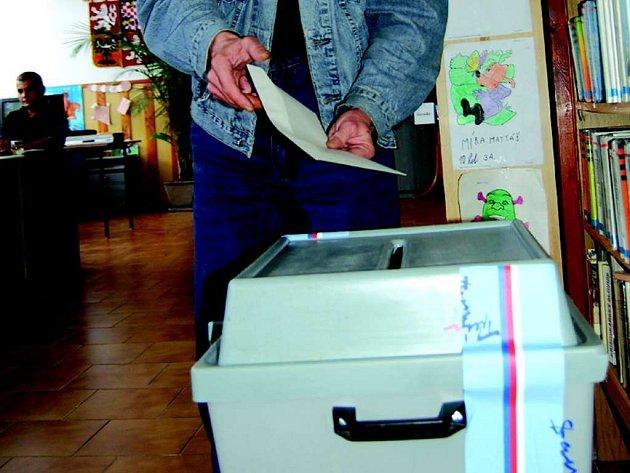 Volby do zastupitelstva obce ve Vřesové.