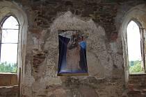 Svatá mše na hradě Hartenberg