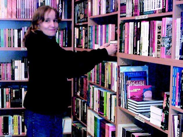 Nové knihkupectví v Chodově.