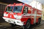 Nové vybavení profesionálních hasičů z Kraslic