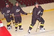 Áčko Baníku Sokolov vyjelo poprvé na led, v KV Aréně