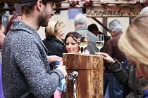 Během Svatováclavského vinobraní panovala pohoda a dobrá nálada.