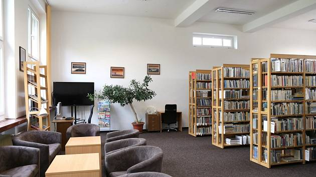 Knihovna v novém.