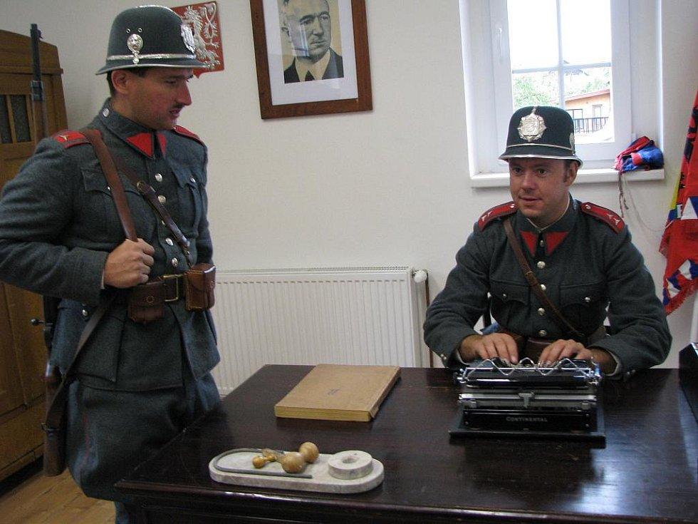 Pietní akce a slavnostní otevření muzea v Habartově.
