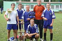 Vítězný tým FC Kraťas.