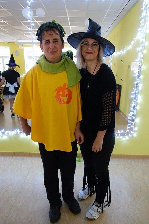 Společný Halloween v sokolovském stacionáři Mateřídoušky.