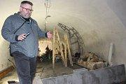 Sklepení sokolovského zámku bude po dokončení rovněž přístupné veřejnosti.
