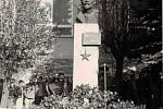 Leninův pomník v Chodově.