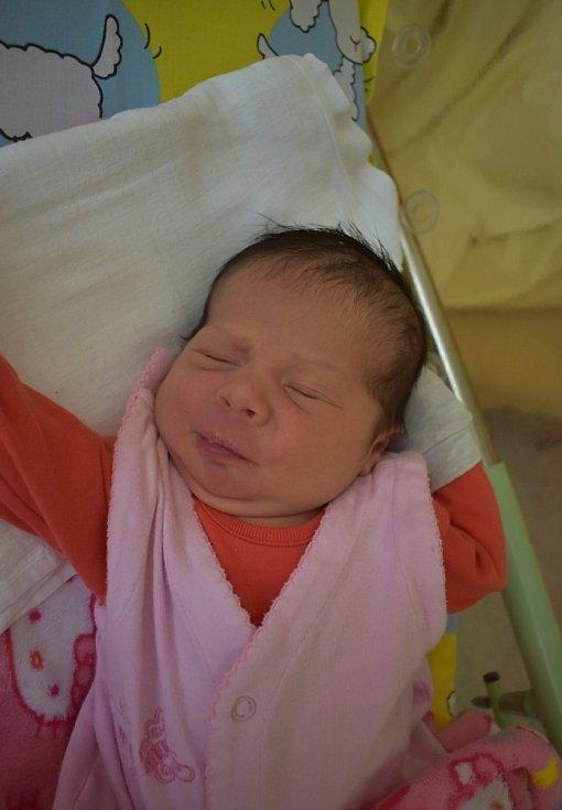 Dominika Horváthová z Habartova se narodila 21. července 2020 v porodnici v Sokolově.