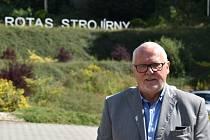 Strojírny jsou moje srdeční záležitost, říká majitel Rotasu Jiří Hrůza (na snímku).