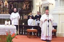 Kardinál Duka v Chlumu.