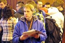 JAK SE SPRÁVNĚ připravit na pohovor? Workshopy a přednášky zaujaly desítky studentů a dalších uchazečů o práci.